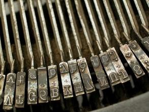 Typewriter inside